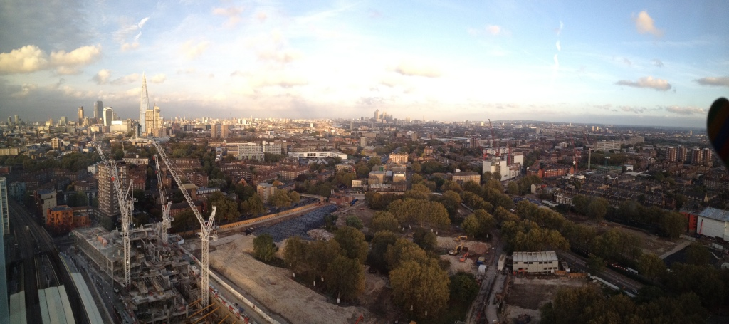 A view from Carlos' flat